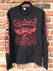 Image of KC LIBERATED LONG SLEEVE TEE (FRONT DESIGN)