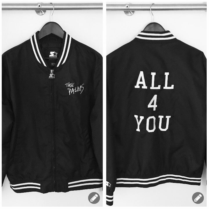 "Image of The Palms ""All4You"" Starter Jacket (Limited)"