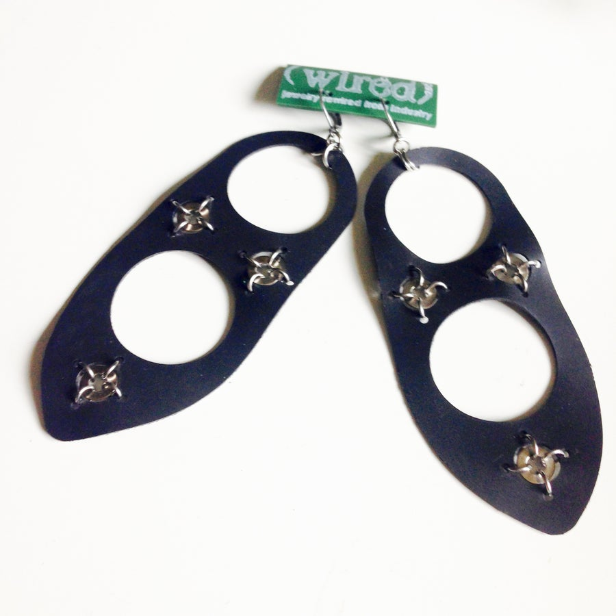 Image of Gasket Case Earrings