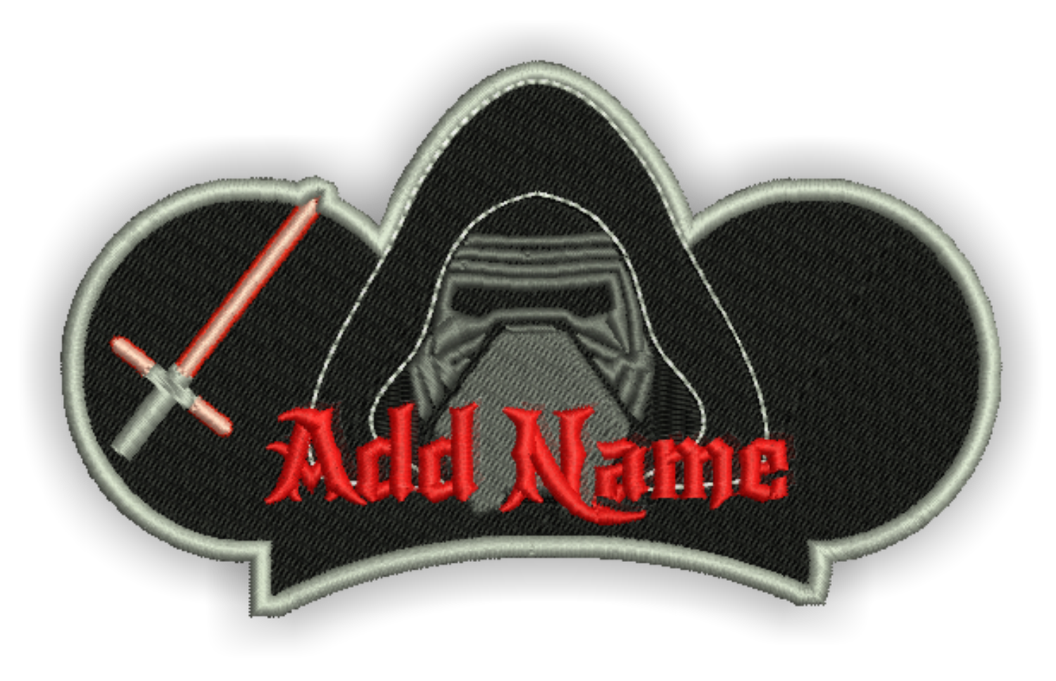 Image of Custom Kylo  Patch