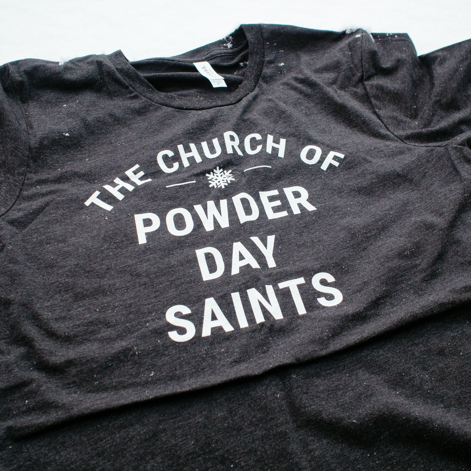 Image of Church of Powder Day Saints Bold T