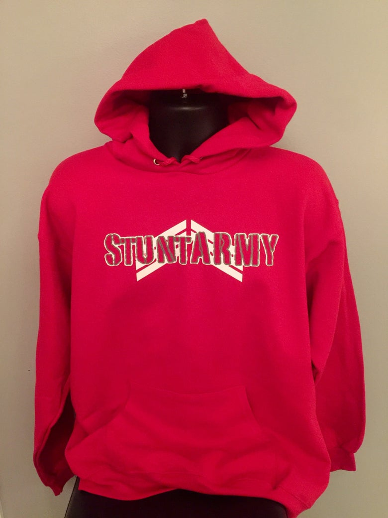 Image of StuntARMY Standard Issue Hoodie-RED