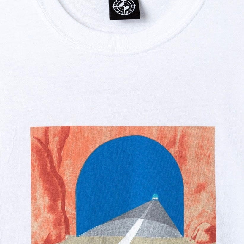 Image of Powers Tunnel T-Shirt White