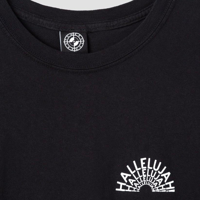 Image of Powers Hallelujah T-Shirt Black