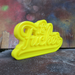 Image of LeFucker Tag [Gloss Yellow]