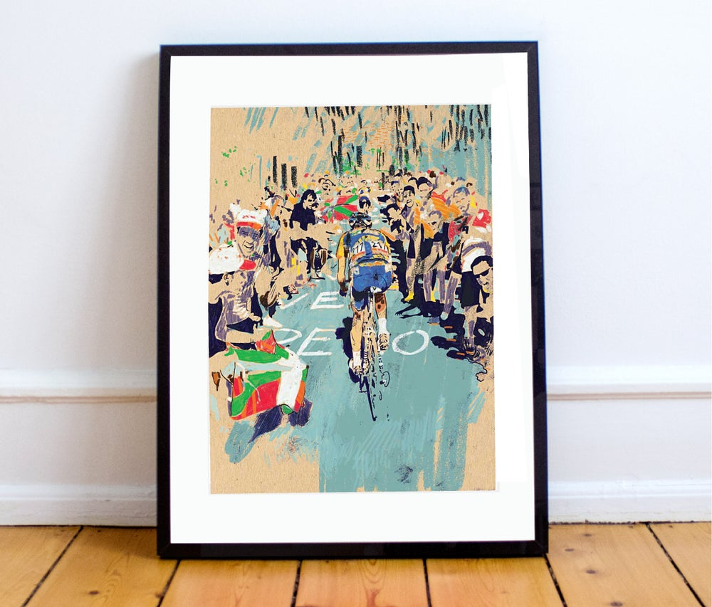 Image of The Struggle print A4 or A3 - By Matthew Burton