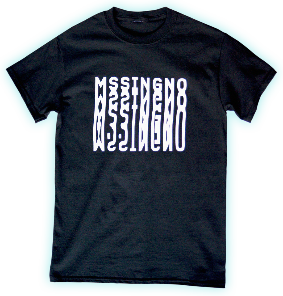 Image of MSSINGNO T-SHIRT BLACK