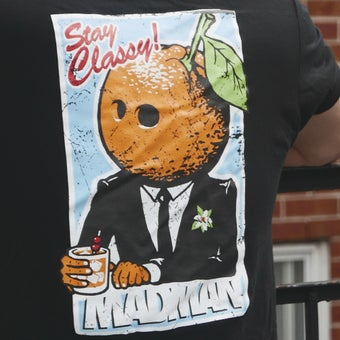 Image of T-shirt Madman ft. Chris B. Demuri