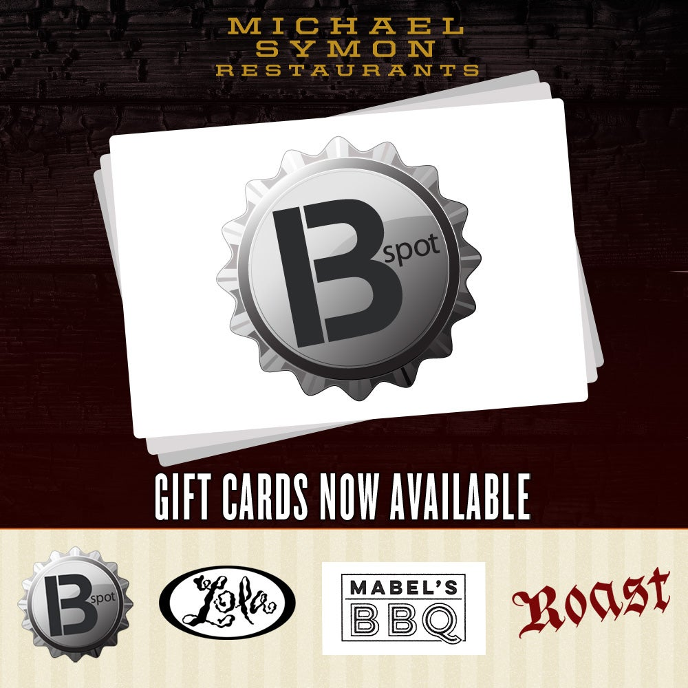 Image of B Spot - GIFT CARDS