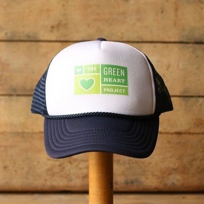 Image of Green Heart Trucker Hat