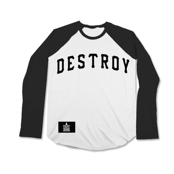 Image of DESTROY BASEBALL TEE