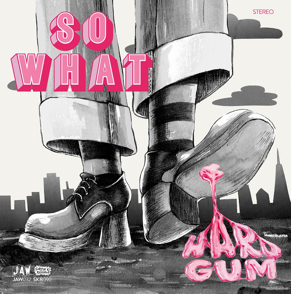 "Image of SO WHAT ""Hard Gum"" LP (black vinyl) + download (JAW032)"