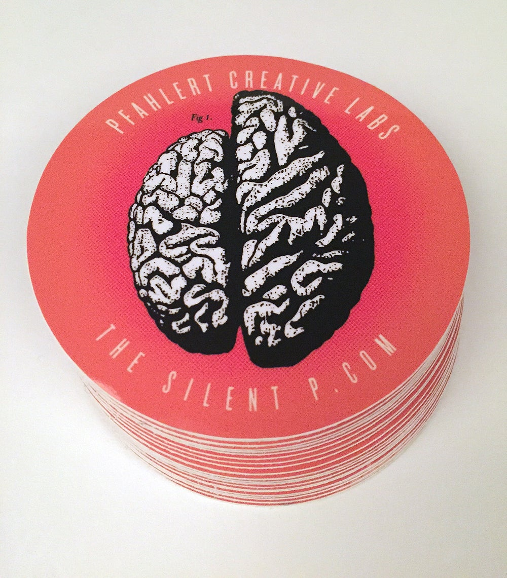 Right Side Brain Vinyl Sticker