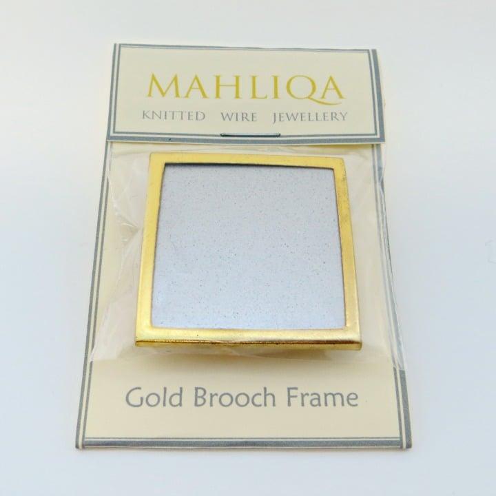 Image of Gold Brooch Frame
