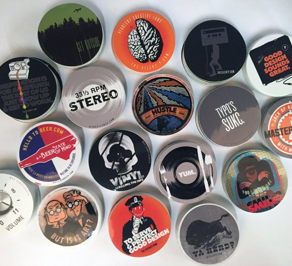 **STICKER EXTRAVAGANZA** - Vinyl sticker SPECIAL!