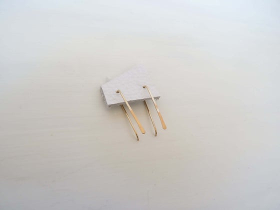 Image of Simple Stick earrings