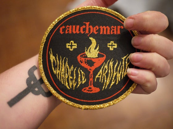 "Image of CAUCHEMAR ""Chapelle Ardente"" patch"