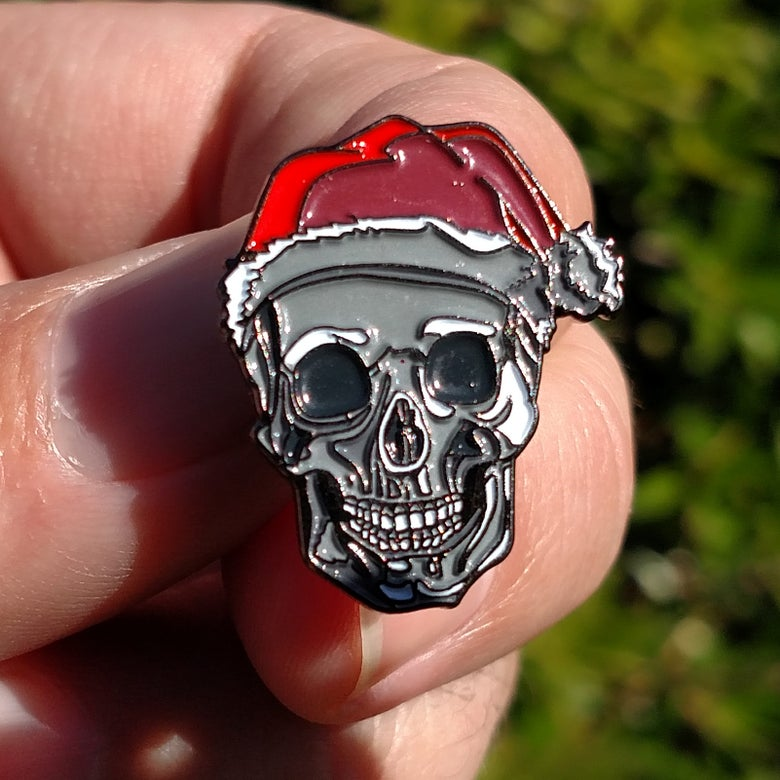 Image of Santa Skull