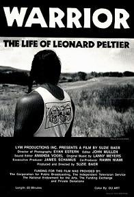 Image of Poster - Warrior The Life of Leonard Peltier