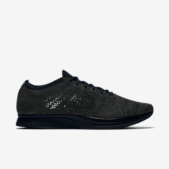 Image of Nike Flyknit Racer Triple Black 'Midnight'