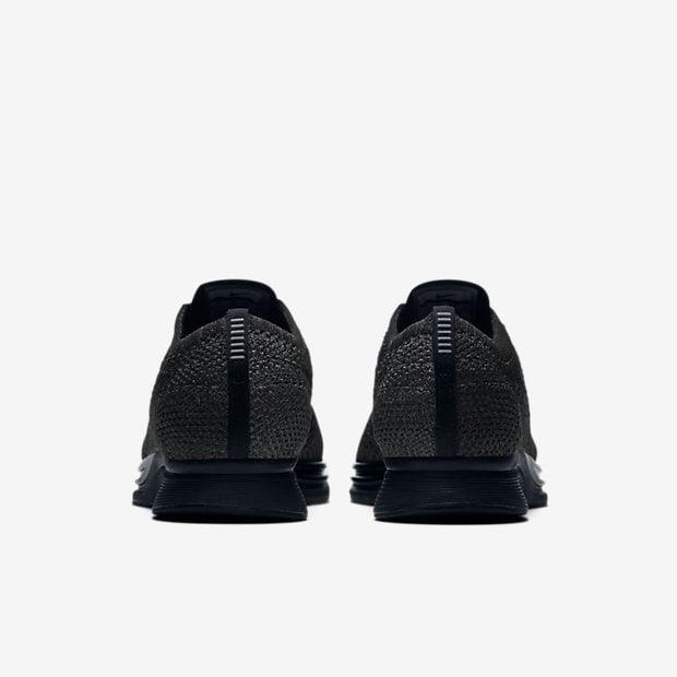 Image of Nike Flyknit Racer Triple Black 'Midnight'