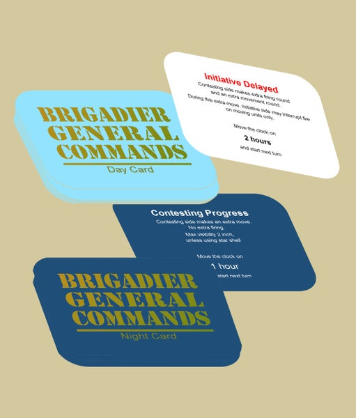 Image of Brigadier General Commands Custom Card Deck