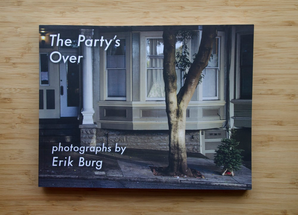 "Image of ""The Party's Over"" photobook"
