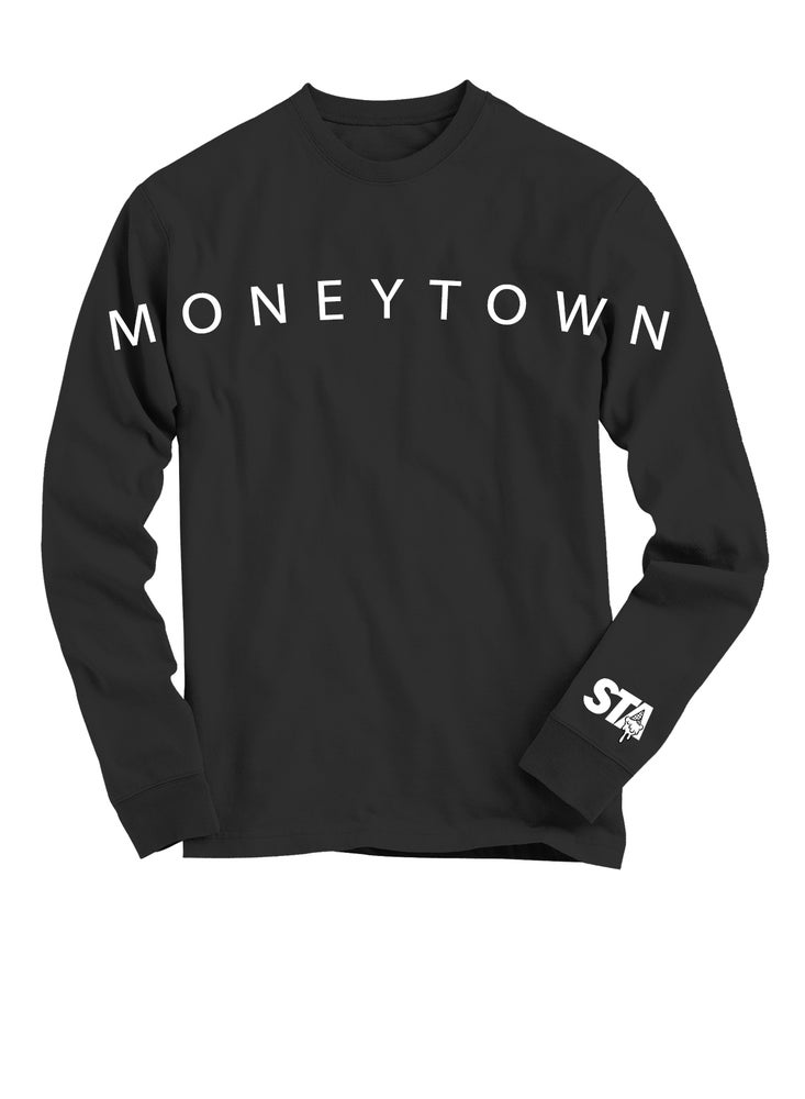 Image of Moneytown Long Sleeve Black