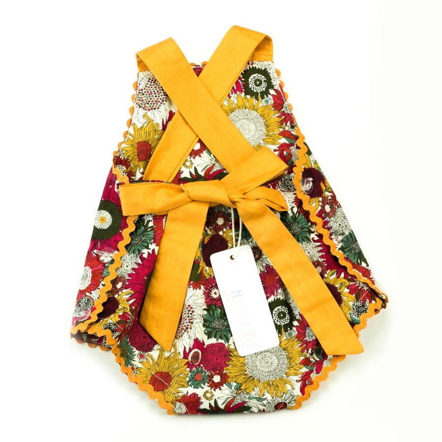 Image of Vintage Bambini Playsuit - Evening Sunflower