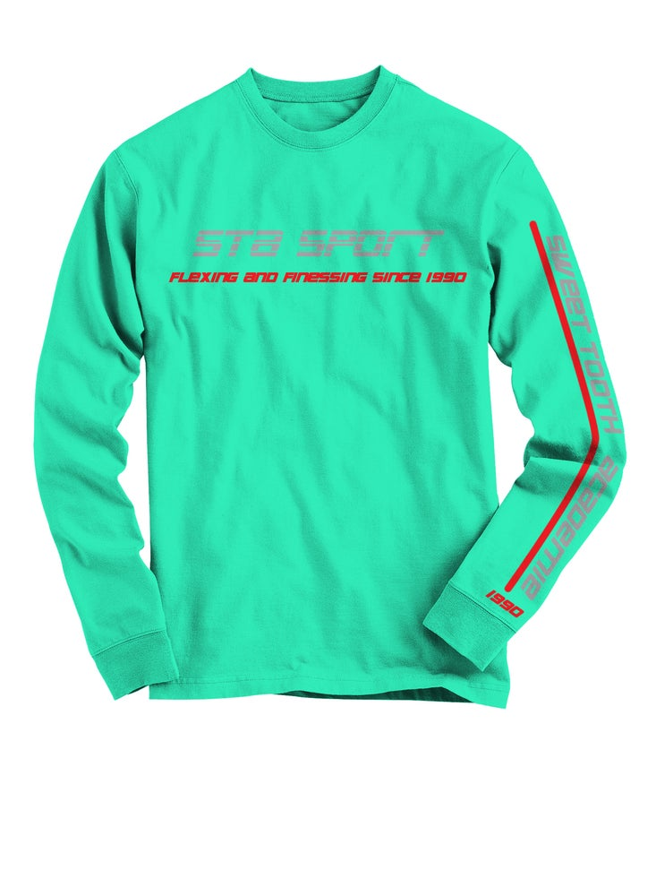 Image of Sta Sport Long Sleeve Celadon