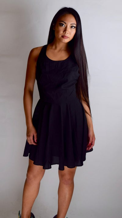 Image of Open Back Bow Dress