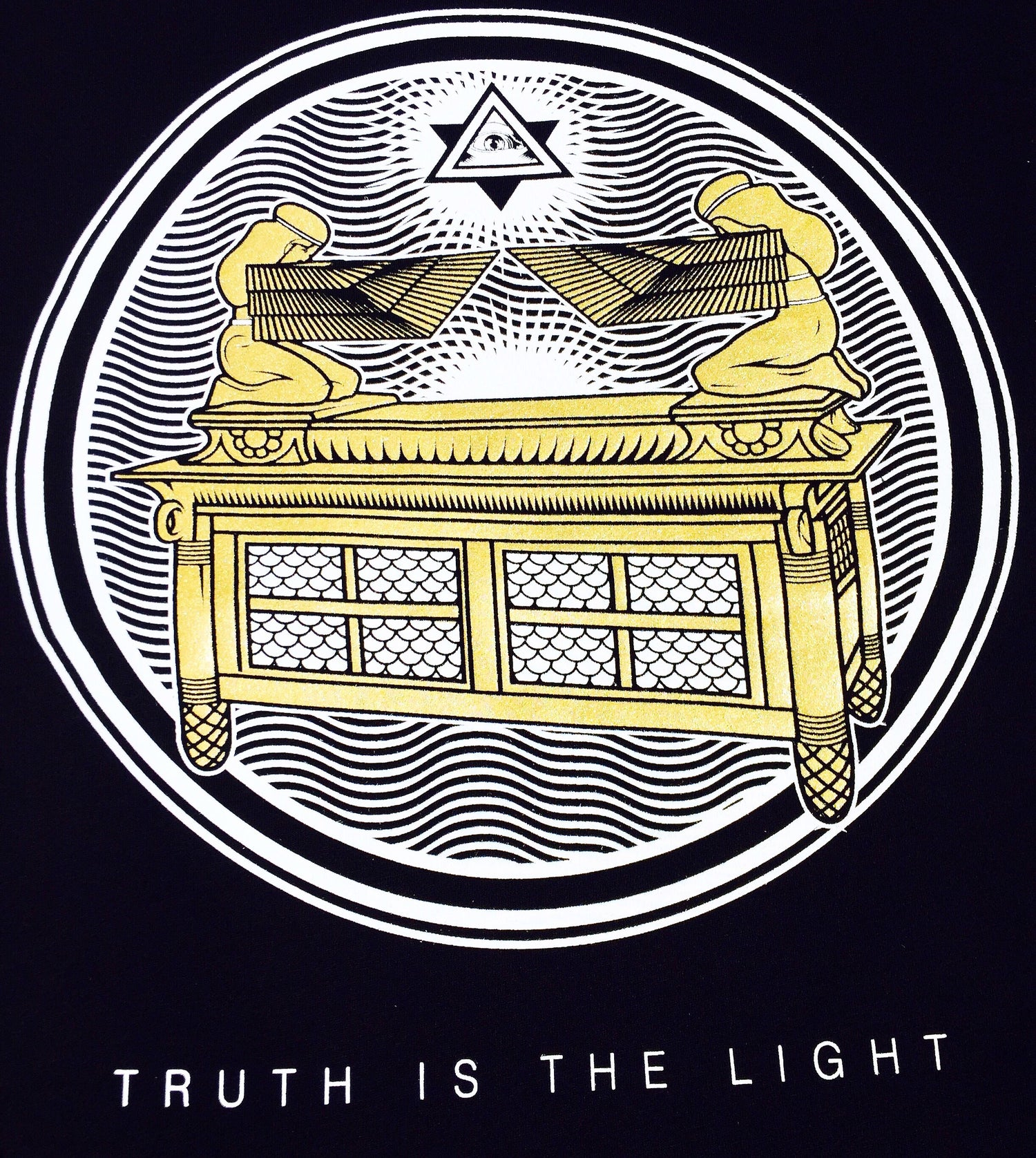 Image of Truth is the Light (Ark of Covenant)-Gold