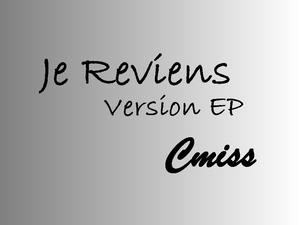 Image of Je reviens version EP