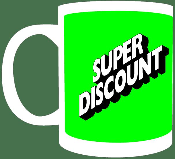 Image of Mug | Super Discount | Green