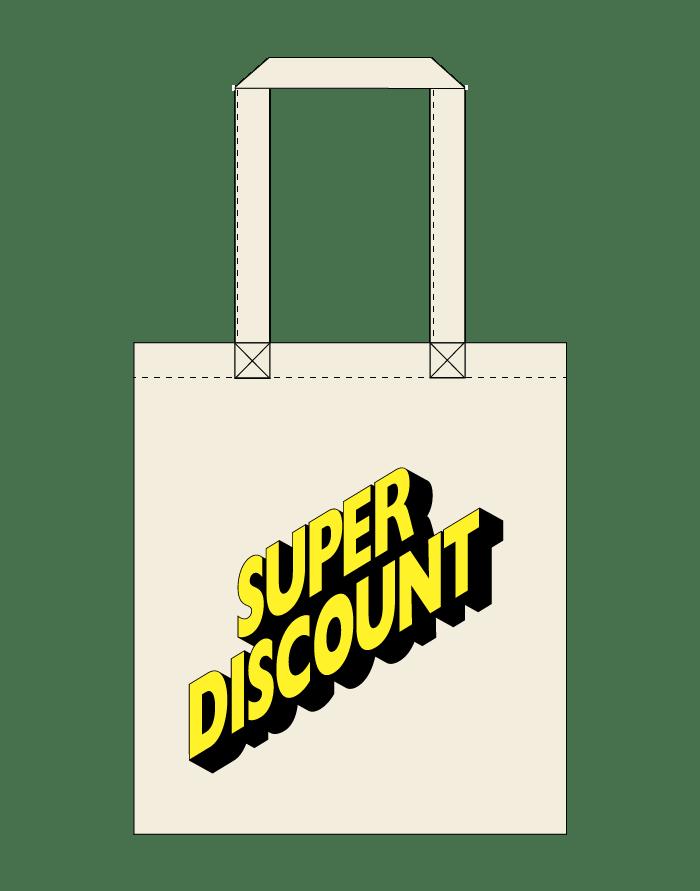 Image of Tote Bag | Logo Yellow