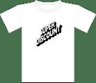 Image of Tee Shirt | B&W Logo | White