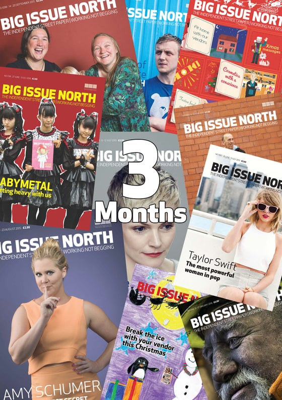 Image of 3 month magazine subscription
