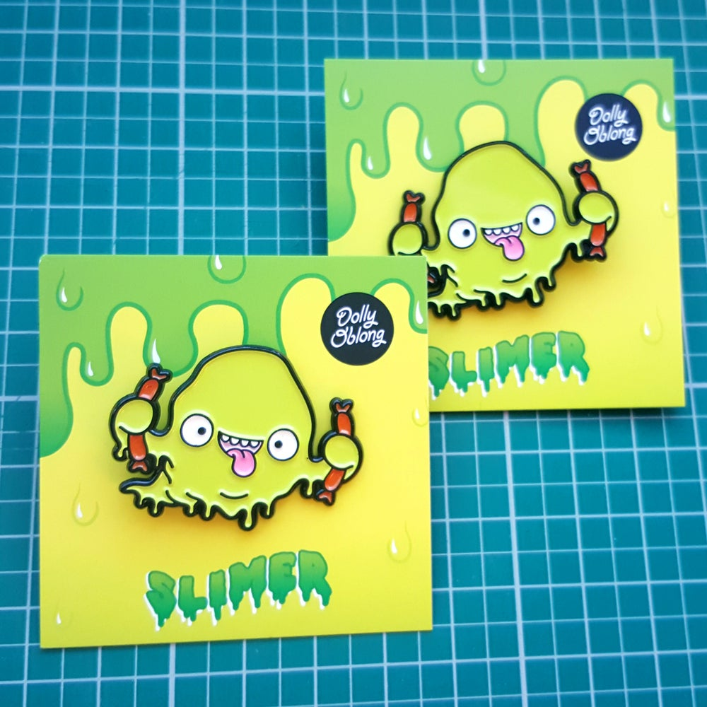 Image of Slimer pin