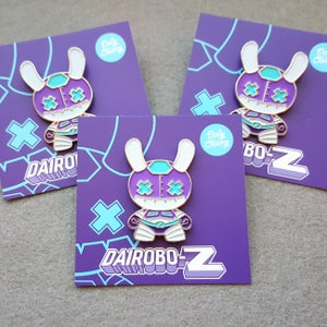 Image of Dairobo-Z dunny pin