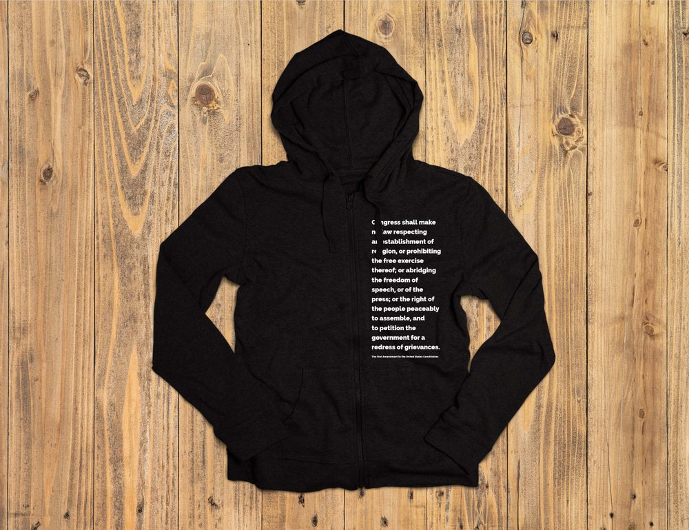 Image of First Amendment Hoodie