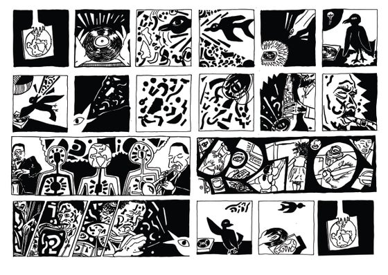 Image of 'Existence Music'- Comic Strip