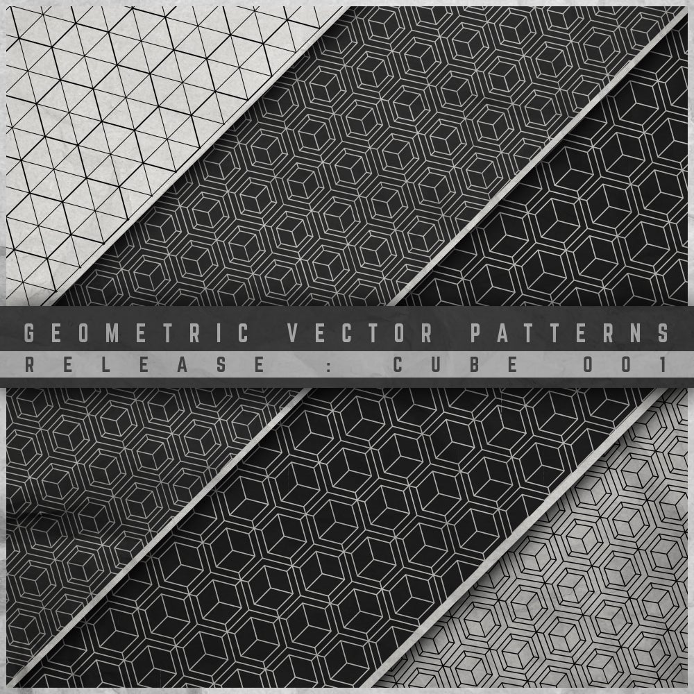 Image of GEOMETRIC VECTOR PATTERN 001