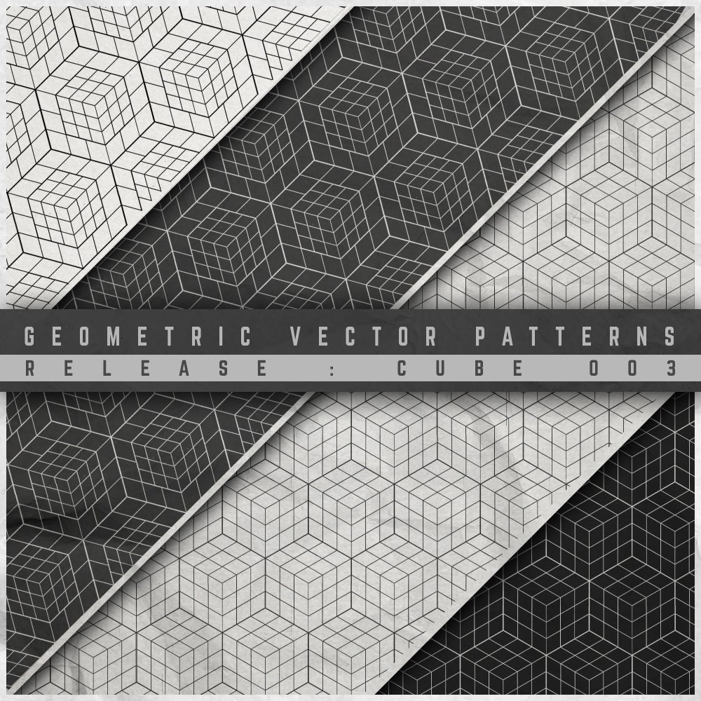 Image of GEOMETRIC VECTOR PATTERN 003