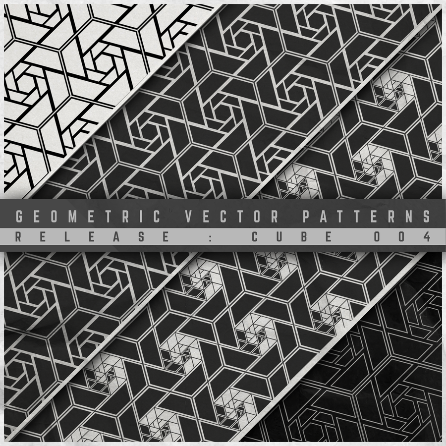 Image of GEOMETRIC VECTOR PATTERN 004