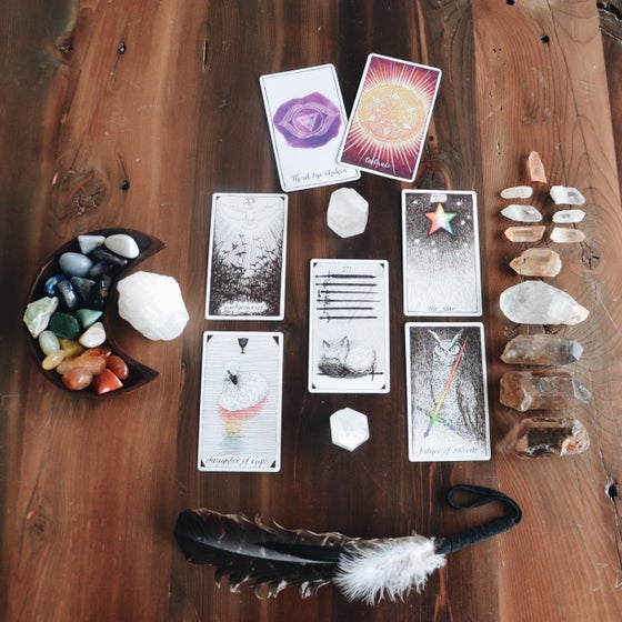 Image of Intuitive Full Tarot Reading - 60 minutes