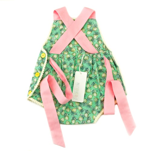Image of Vintage Bambini Playsuit - Pineapple