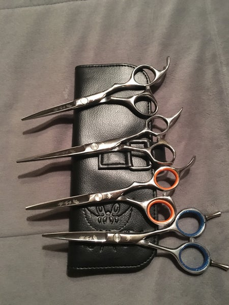 Image of Set of 4 Shears by Hair Royalty
