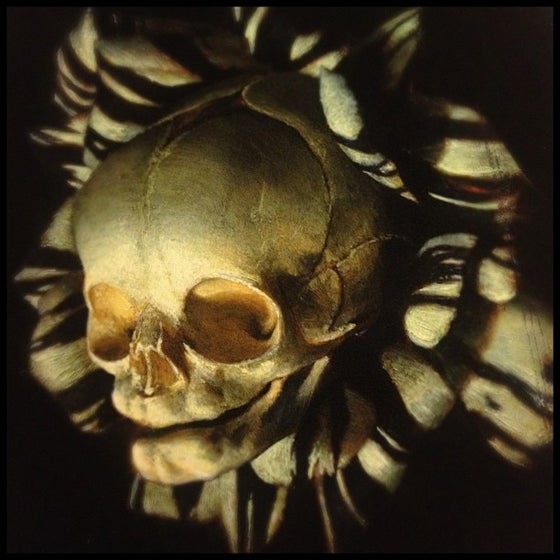 Image of 'FOETAL SKULL OF NASCENCY' - Miniature Open Edition Print