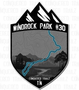 "Image of ""Windrock Park #30"" Trail Badge"
