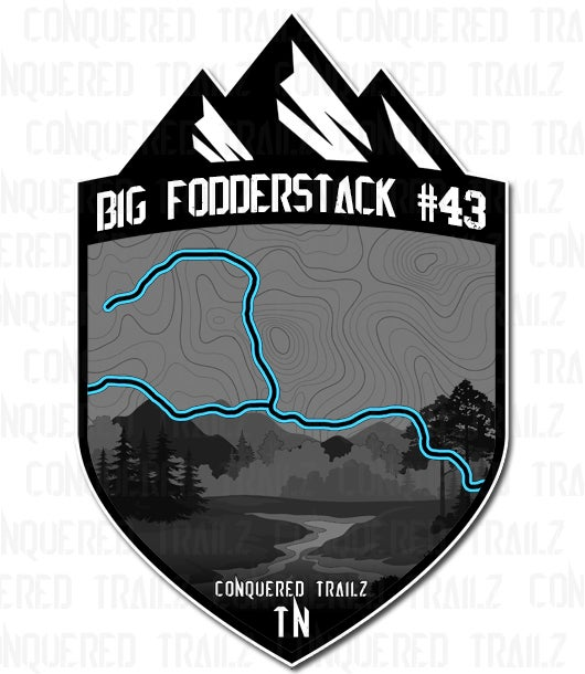 "Image of ""Big Fodderstack #43"" Trail Badge"